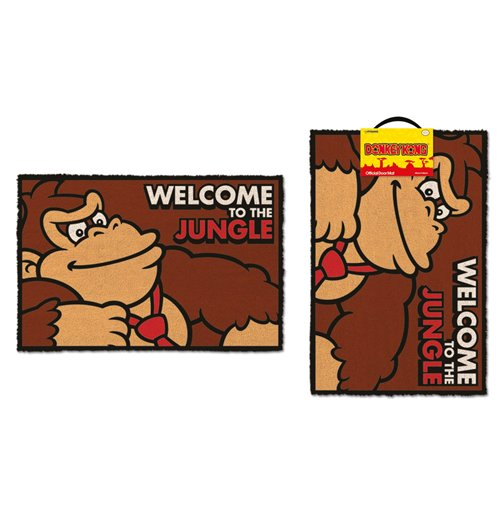 kaufe donkey kong fu matte welcome to the jungle 40 x 60 cm. Black Bedroom Furniture Sets. Home Design Ideas