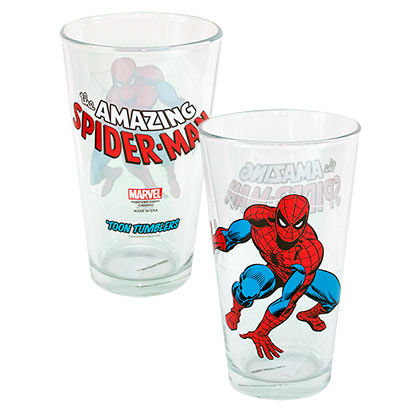 Glas Spiderman