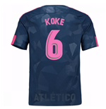 Trikot 2017/18  Atletico Madrid 2017-2018 Third (Koke 6)