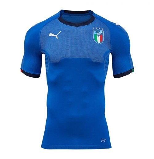 Trikot Italien Fussball 2018 2019 Home Evoknit Authentic Mit Verpackung