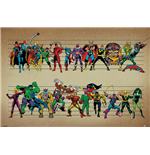 Poster Marvel Superheroes 279355