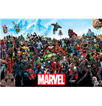Poster Marvel Superheroes 279356