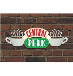 Poster Friends - Central Perk Brick - 61X91,5 Cm