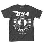 T-Shirt BSA Motorcycles - Classic British Motorcycles Since 1903