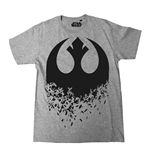 T-Shirt Star Wars VIII Rebel Destroy