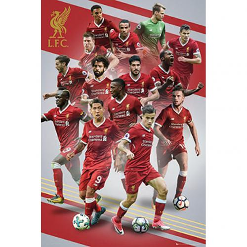 Poster Liverpool FC Players 16