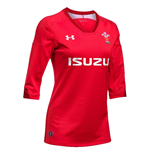 Trikot Galles Rugby 2018-2019 Home (Rot)