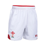 Shorts Galles Rugby 2018-2019 Home (Weiss)