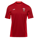 Trikot Galles Rugby 2018-2019 (Rot)