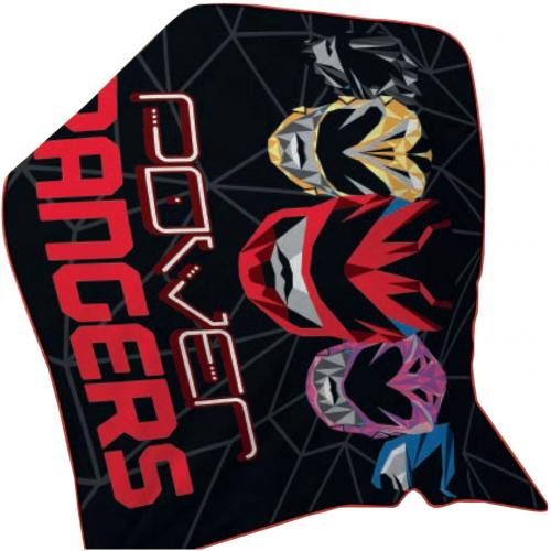 Decke Power Rangers Fleece