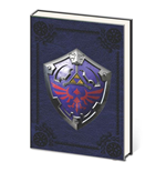 Legend of Zelda Premium Notizbuch A5 Metal Shield