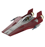 Star Wars Build & Play Modellbausatz mit Sound & Leuchtfunktion 1/44 Resistance A-Wing Fighter Red