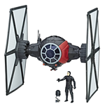 Star Wars Episode VIII Force Link Fahrzeug mit Figur 2017 First Order Special Forces TIE Fighter