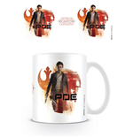 Star Wars Episode VIII Tasse Poe Icons