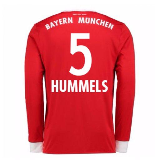 Kaufe Trikot 201718 Bayern München Mit Langen Armel Home Hummels 5