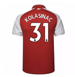 Trikot 2017/18  Arsenal Home Kinder (Kolasinac 31)