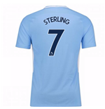 Trikot 2017/18  Manchester City FC 2017-2018 Home Kinder (Sterling 7)