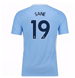 Trikot 2017/18  Manchester City FC 2017-2018 Home Kinder (Sane 19)