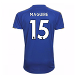 Trikot 2017/18  Leicester City F.C. 2017-2018 Home (Maguire 15) Kinder
