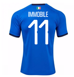 Trikot Italien Fussball 2018-2019 Home  (Immobile 11) Kinder