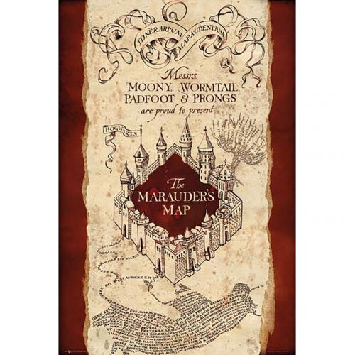Poster Harry Potter  Marauders Map 293