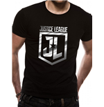 T-Shirt Justice League - Foil Logo (Unisex)