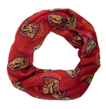 Schal Harry Potter All-over Gryffindor House Badge Crest Viscose Schal in rot