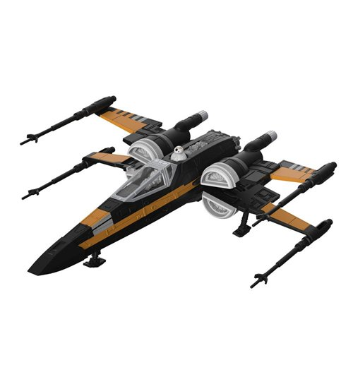 Star Wars Build & Play Modellbausatz mit Sound & Leuchtfunktion 1/78 Poe's Boosted X-Wing Fighter