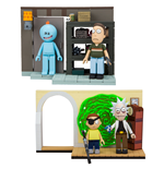 Rick and Morty Small Bauset Wave 1 Sortiment (6)