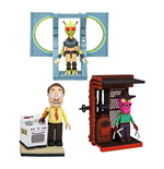 Rick and Morty Micro Bauset Wave 1 Sortiment (8)