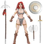 Red Sonja Biegefigur She-Devil with a Sword 14 cm