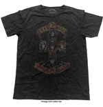 T-Shirt Guns N' Roses  Appetite Cross (Vintage Finish)