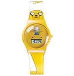 Adventure Time LCD-Armbanduhr Jake