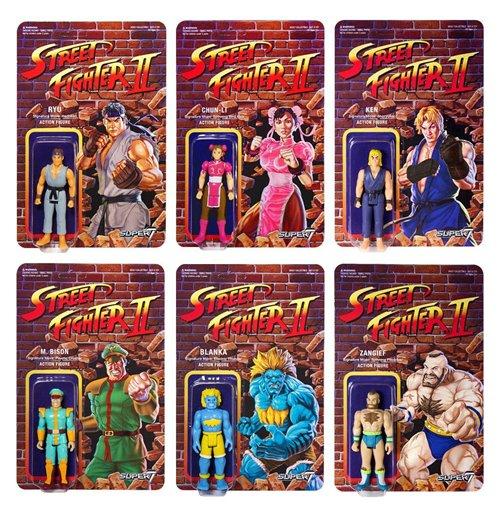 Street Fighter Ii Reaction Actionfiguren 10 Cm Champions