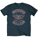 Aerosmith T-Shirt für Männer - Design: Boston Pride