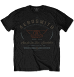 Aerosmith T-Shirt für Männer - Design: Back in the Saddle