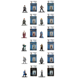Harry Potter / Phantastische Tierwesen Nano Metalfigs Diecast Minifiguren 4 cm Sortiment (24)