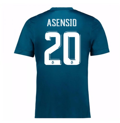 Trikot 2017/18  Real Madrid 2017-2018 Third (Asensio 20)