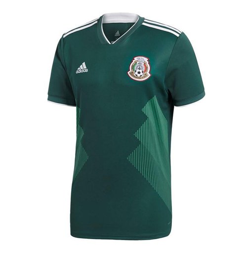 Trikot 2018/19  Mexiko Fussball 2018-2019 Home Kinder