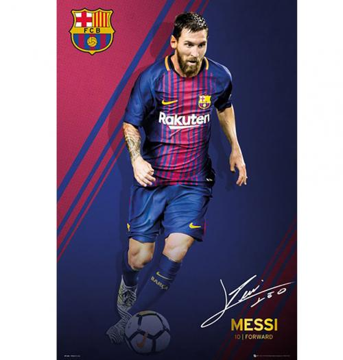 Poster FC Barcelona Messi 55