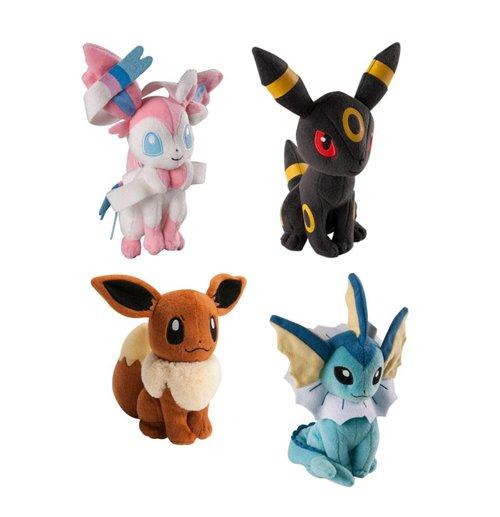Kaufe pokemon pl schfiguren 20 cm sortiment evoli 9 - Pokemon noir 2 evoli ...