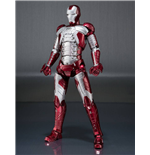 Iron Man 2 S.H. Figuarts Actionfigur Iron Man Mark V & Hall of Armor Set 15 cm