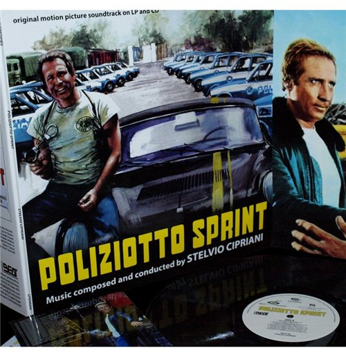 Vinyl Stelvio Cipriani - Poliziotto Sprint (Lp+Cd)