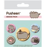 Pusheen Ansteck-Buttons 5er-Pack Fancy
