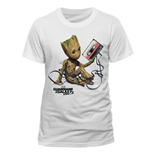 T-Shirt Guardians of the Galaxy - Groot & Tape