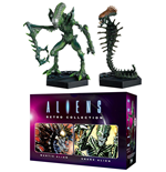 Aliens Retro Collection Figuren Doppelpack Mantis Alien & Snake Alien 13 cm