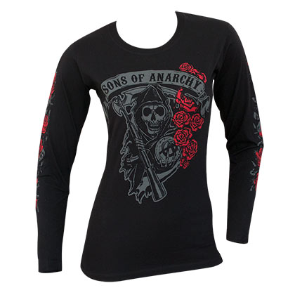 Longsleeve Trikot Sons of Anarchy für Frauen
