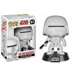 Star Wars Episode VIII POP! Vinyl Wackelkopf-Figur First Order Snowtrooper 9 cm
