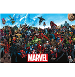 Poster Marvel Superheroes