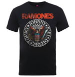 T-Shirt Ramones  Vintage Eagle Seal